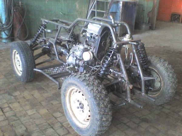 Квадроцикл из ОКИ рама