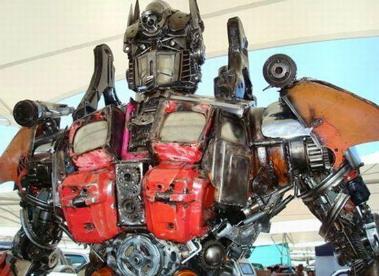 Скульптуры из мусора своими руками на  www.mozgochiny.ru _04