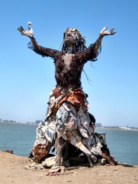 Скульптуры из мусора своими руками на  www.mozgochiny.ru _13