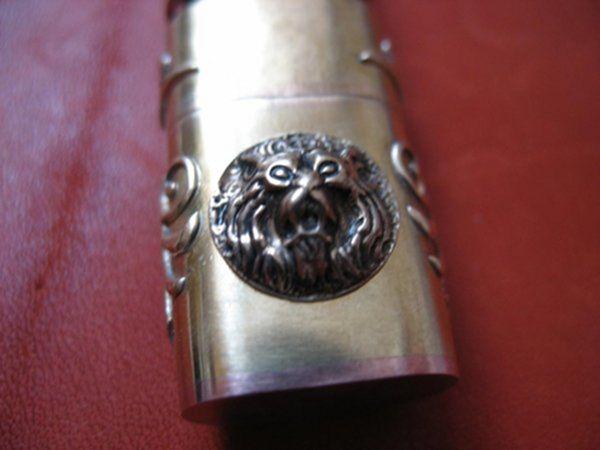 Винтажная флешка. Ч.5 Львы на колпачке. (Фото 12))