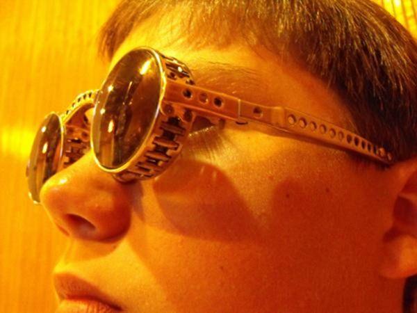Самодельные стимпанк очки (Фото 27)