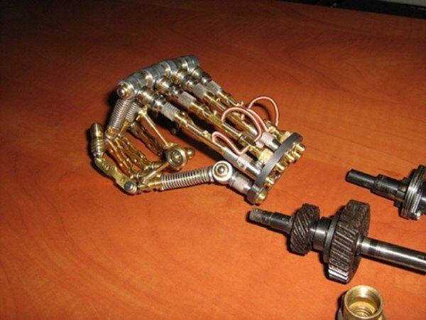 Как сделать остатки киборга своими руками (Ворклог) (Фото 71)