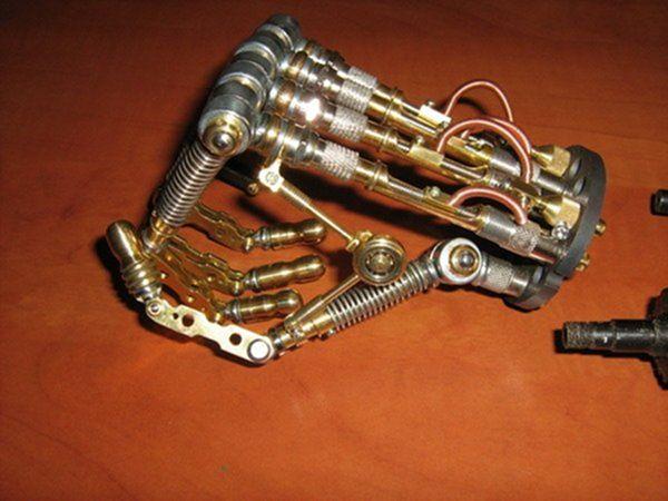 Как сделать остатки киборга своими руками (Ворклог) (Фото 70)