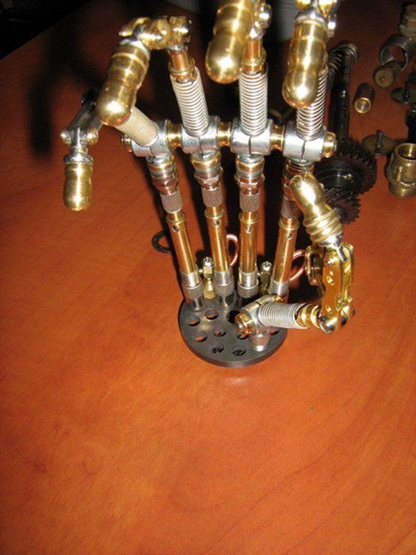 Как сделать остатки киборга своими руками (Ворклог) (Фото 69)