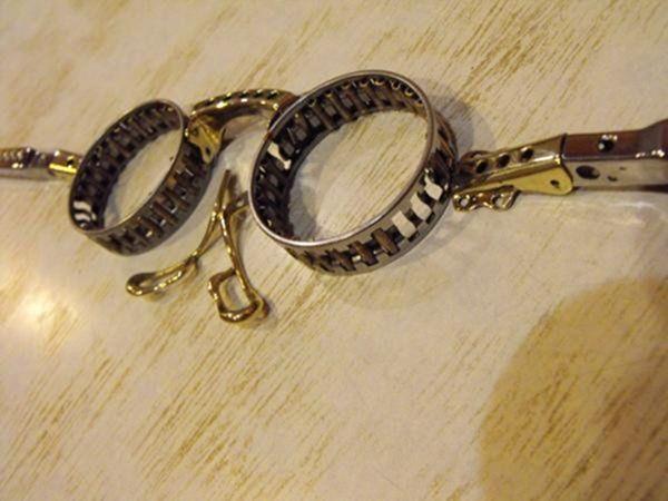 Самодельные стимпанк очки (Фото 18)