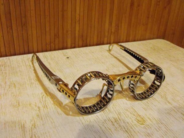Самодельные стимпанк очки (Фото 19)