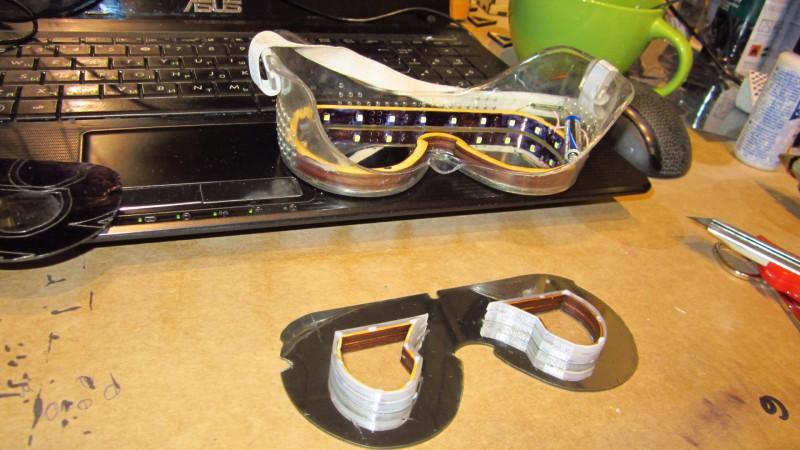 Мозго Очки своими руками - необычные самоделки к карнавалу или костюму супергероя от sTs - Brain Glasses  from mozgochiny(39)
