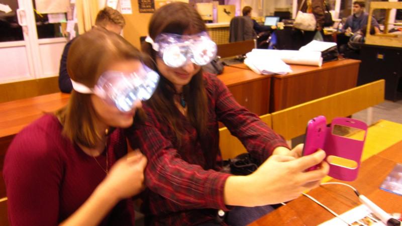 Первый мастер класс по необычным очкам (1)