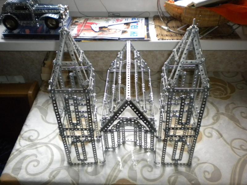 Модели из металлических конструкторов - примеры самоделок (14)