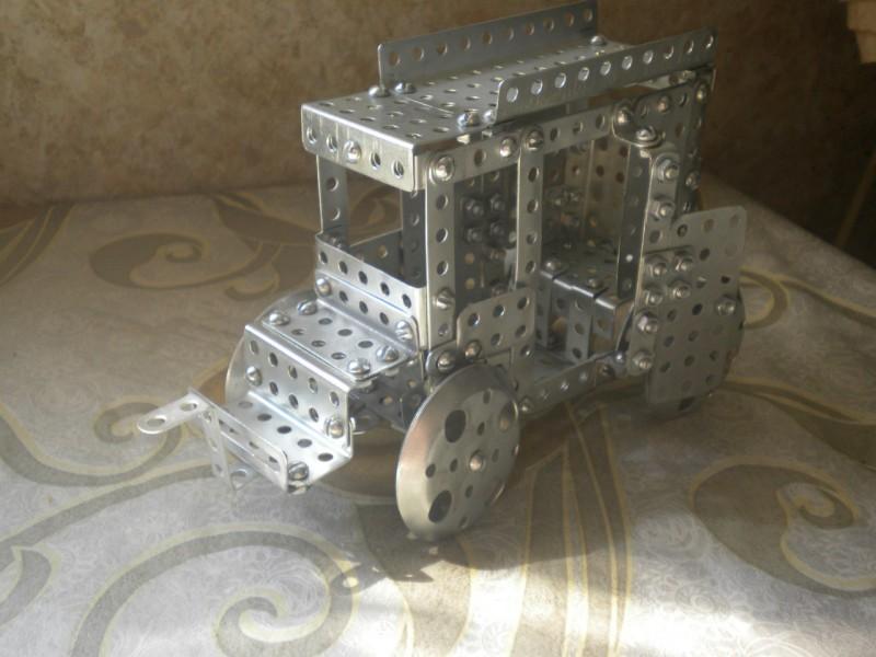 Модели из металлических конструкторов - примеры самоделок (2)