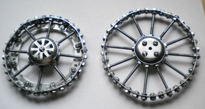 Модели из металлических конструкторов - примеры самоделок (20)