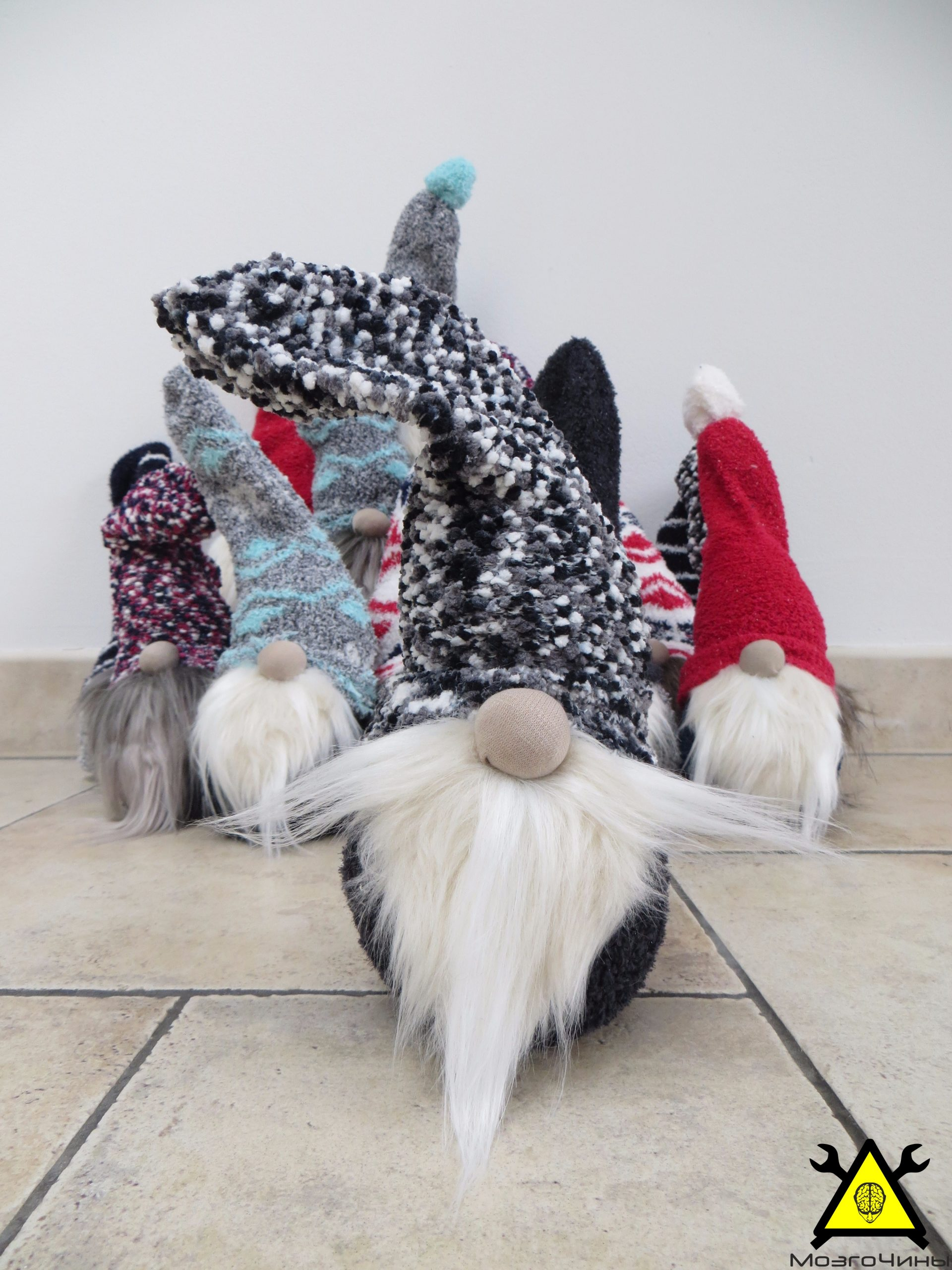 Скандинавские рождественские гномы