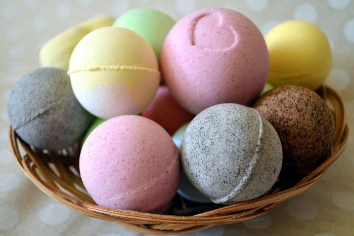 Булящие шарики для ванны своими руками