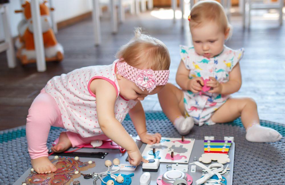 Бизиборд своими руками для девочек 1 год
