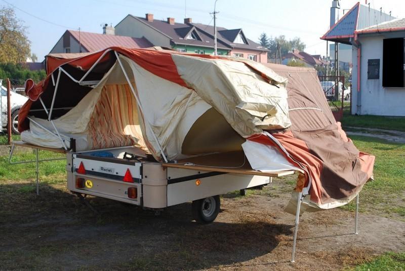 Прицеп палатка своими руками из легкового прицепа