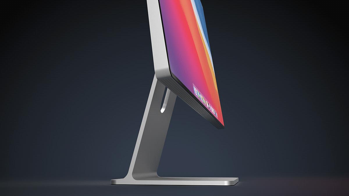 iMac 2021 в новом дизайне