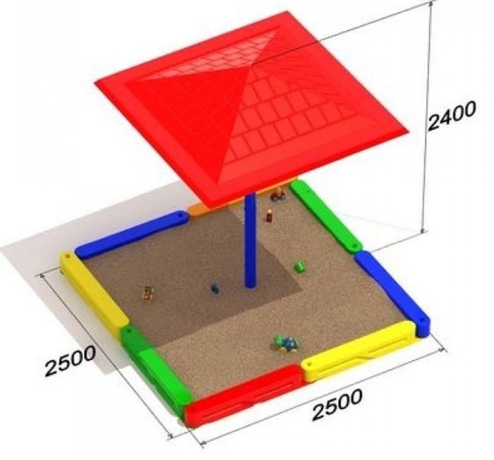 песочница для маленьких детей