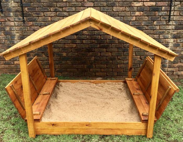 песочницы для детей на дачу