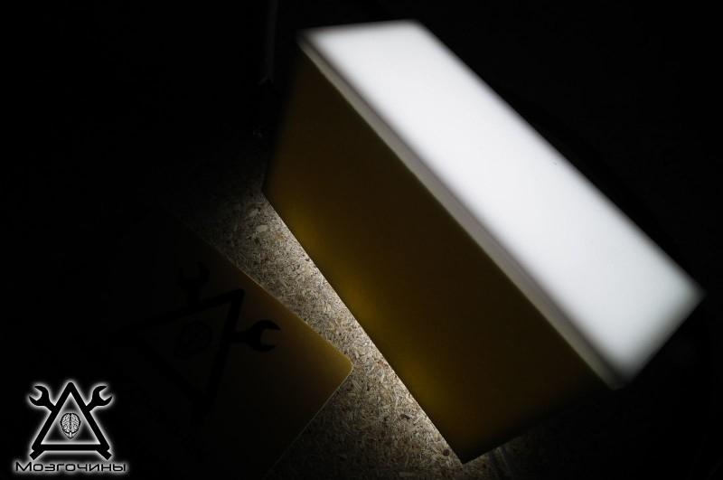 Как сделать красивый светодиодный стенд своими руками на www.mozgochiny.ru 012