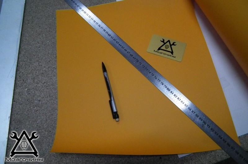 Как сделать красивый светодиодный стенд своими руками на www.mozgochiny.ru 013