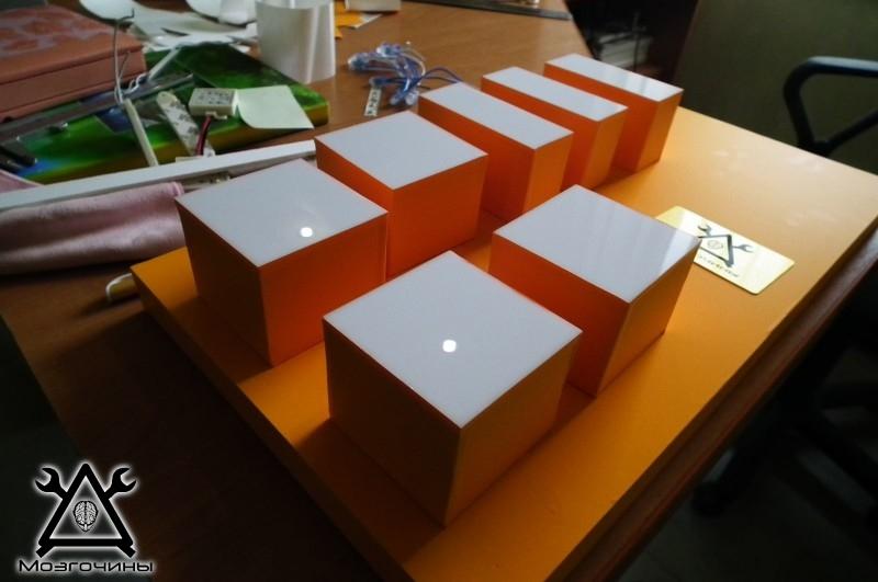 Как сделать красивый светодиодный стенд своими руками на www.mozgochiny.ru 017