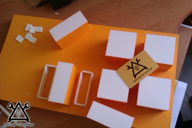 Как сделать красивый светодиодный стенд своими руками на www.mozgochiny.ru 023