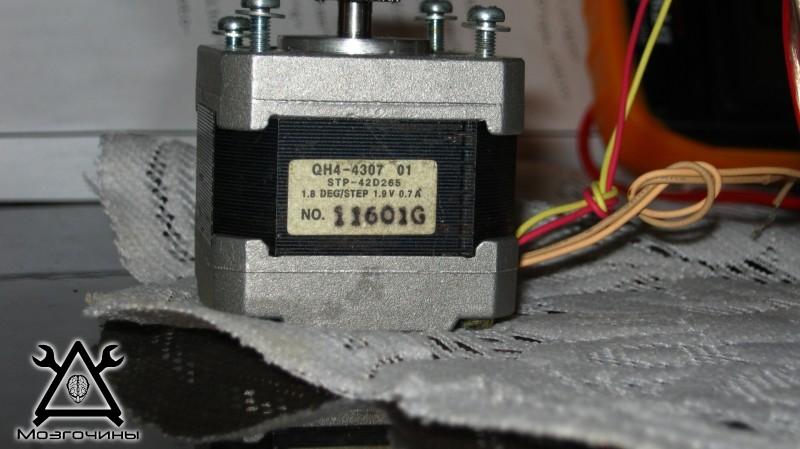 В каких принтерах шаговый двигатель
