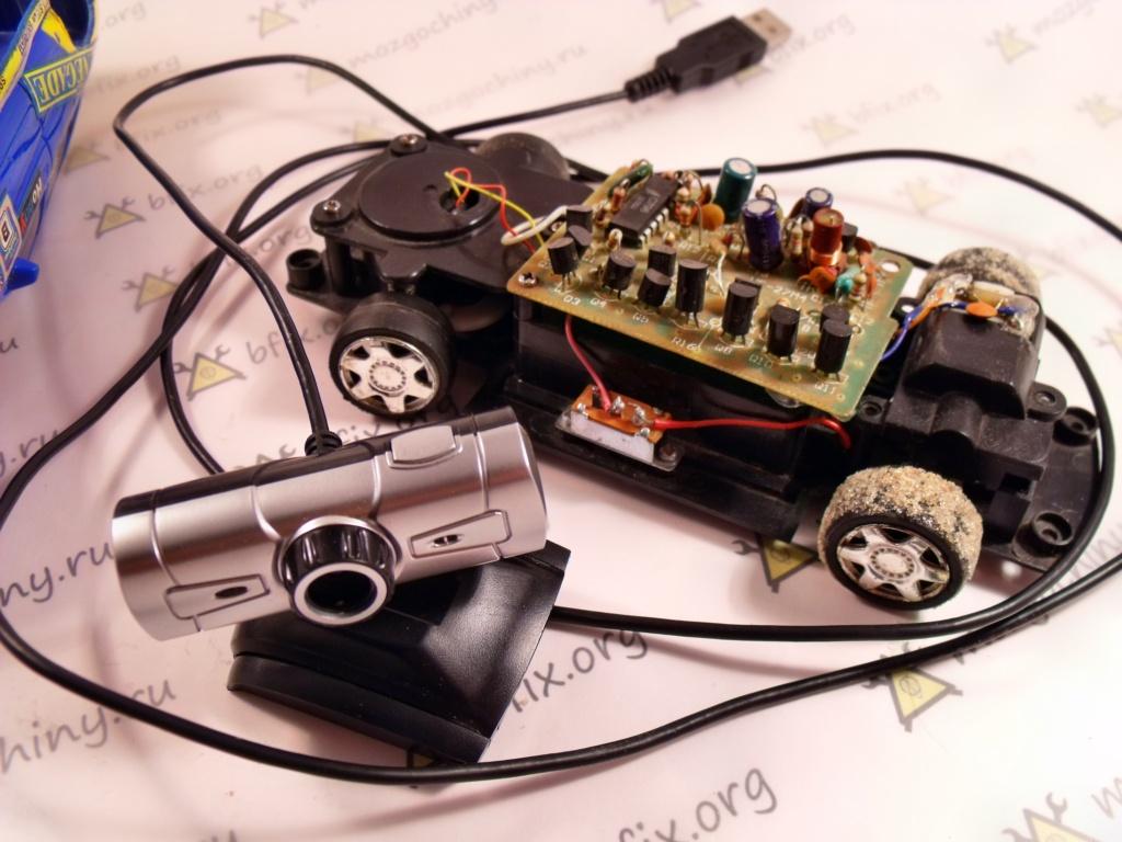 Радиоуправляемая машина своими руками