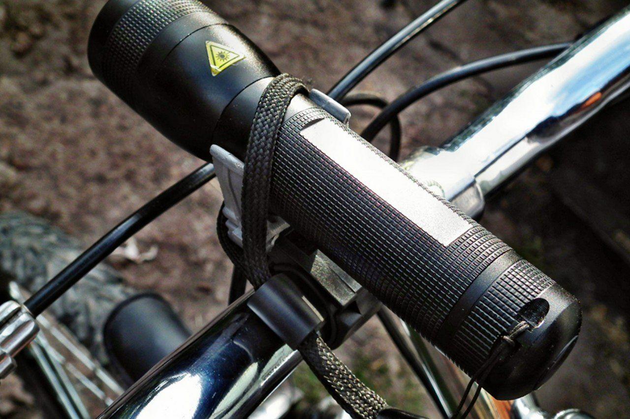 Видео как сделать фонарики на велосипед