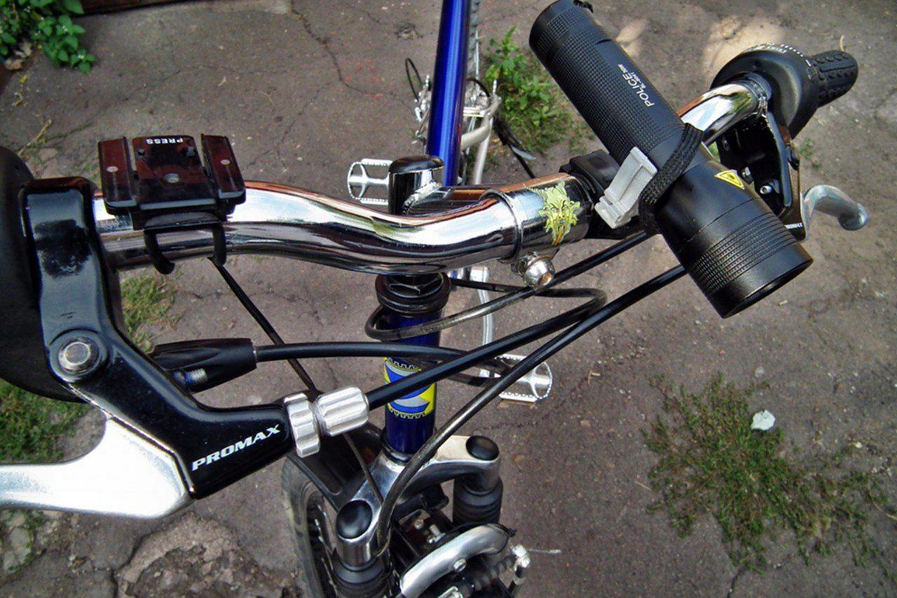 Стоп-сигнал для велосипеда (покупной и изготовленный) 93