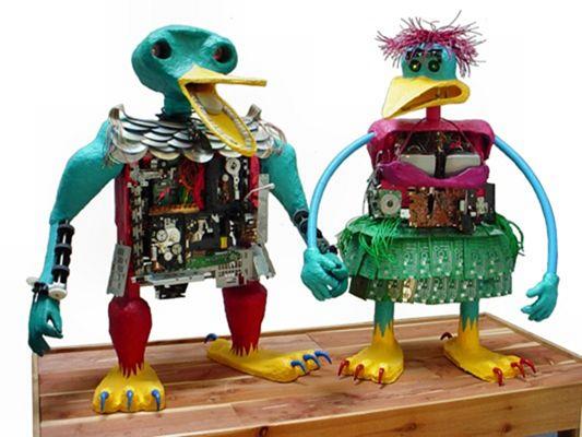 Поделки из мусора. Поделки своими руками. Коллекция от www.mozgochiny.ru_65