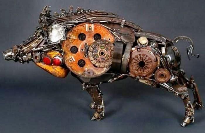 Скульптуры из мусора своими руками на  www.mozgochiny.ru   _09
