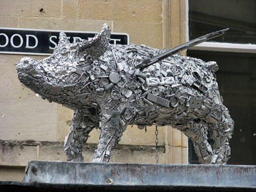 Скульптуры из мусора своими руками на  www.mozgochiny.ru   _16