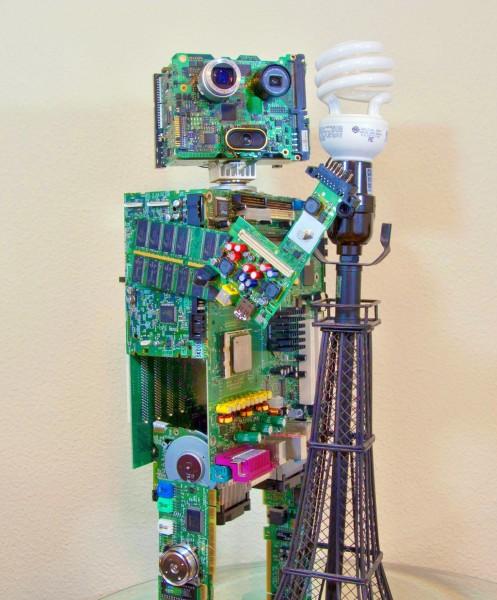 Скульптуры из мусора своими руками на  www.mozgochiny.ru   _18