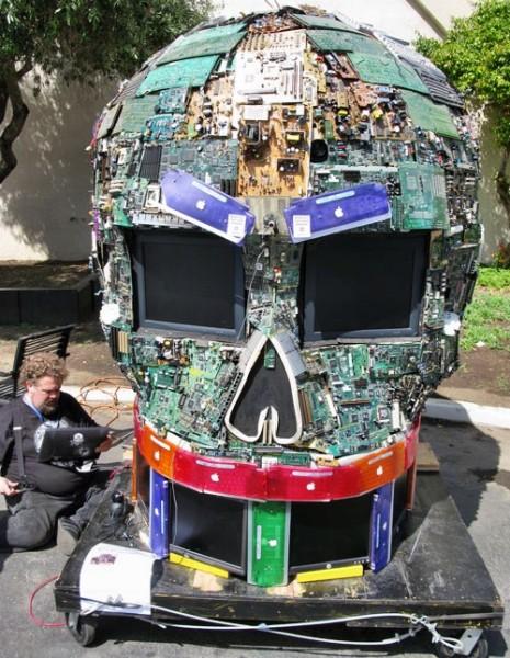 Скульптуры из мусора своими руками на  www.mozgochiny.ru   _19