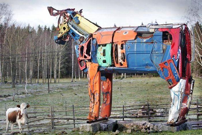 Скульптуры из мусора своими руками на  www.mozgochiny.ru   _20