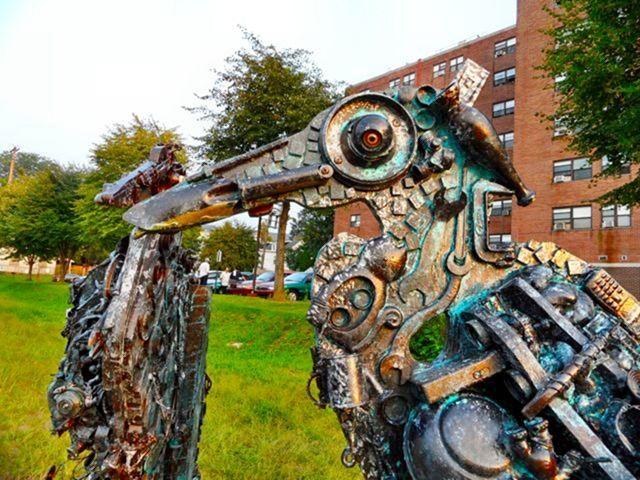 Скульптуры из мусора своими руками на  www.mozgochiny.ru   _25