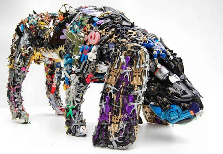 Скульптуры из мусора своими руками на  www.mozgochiny.ru   _28