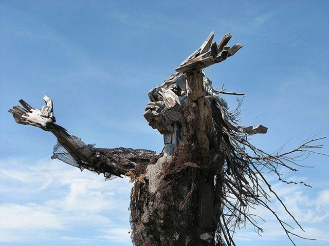 Скульптуры из мусора своими руками на  www.mozgochiny.ru   _30