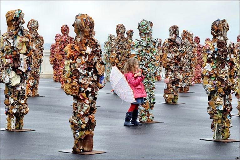 Скульптуры из мусора своими руками на  www.mozgochiny.ru   _33