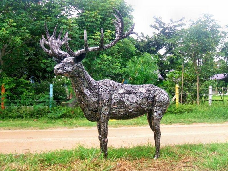 Скульптуры из мусора своими руками на  www.mozgochiny.ru   _34