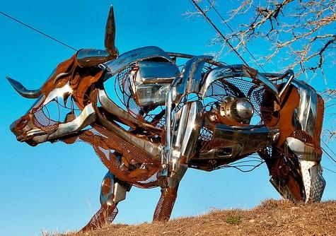 Скульптуры из мусора своими руками на  www.mozgochiny.ru_101