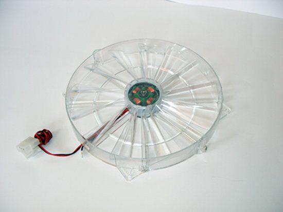 Общий вид вентилятора Globefan 220mm Blue LED