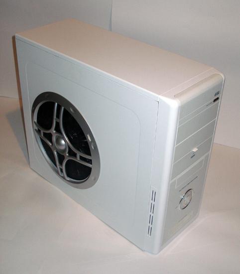 Компьютер с новым крупным вентилятором