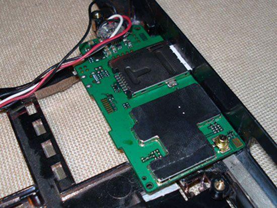 Установка 3G модема в корпус ноутбука