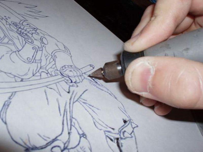 Гравировка своими руками гравером