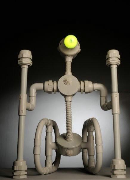 Сделай сам ночник в виде робота
