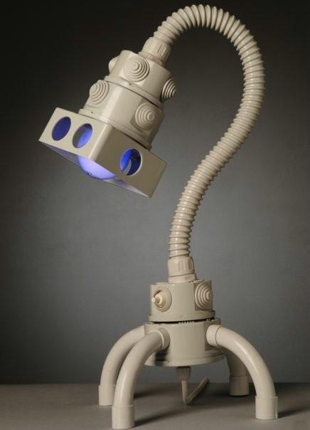 Самодельный ночник в виде робота