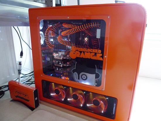 Моддинг проект Overclocked Orange с внутренней СВО