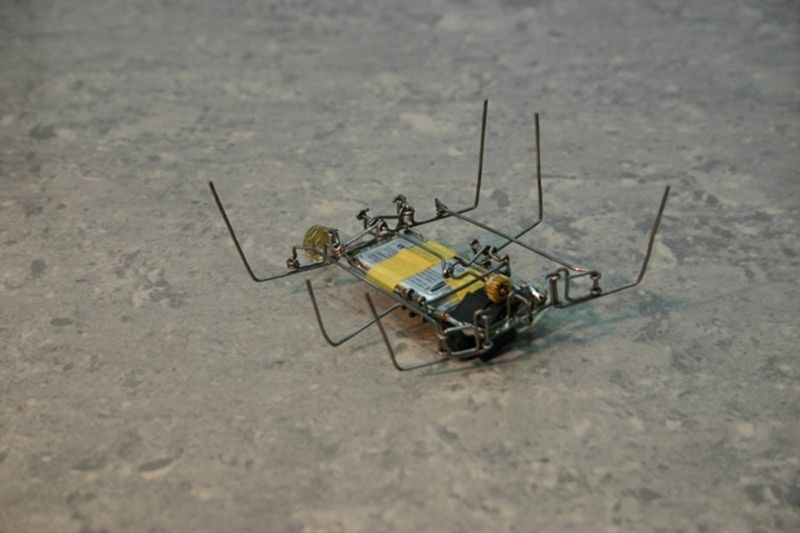 про самодельных роботов из